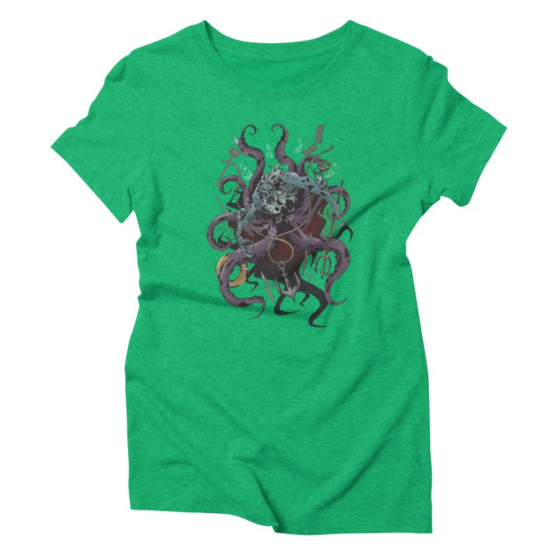 Naughty-cal Women's Triblend T-Shirt by bybred's Artist Shop