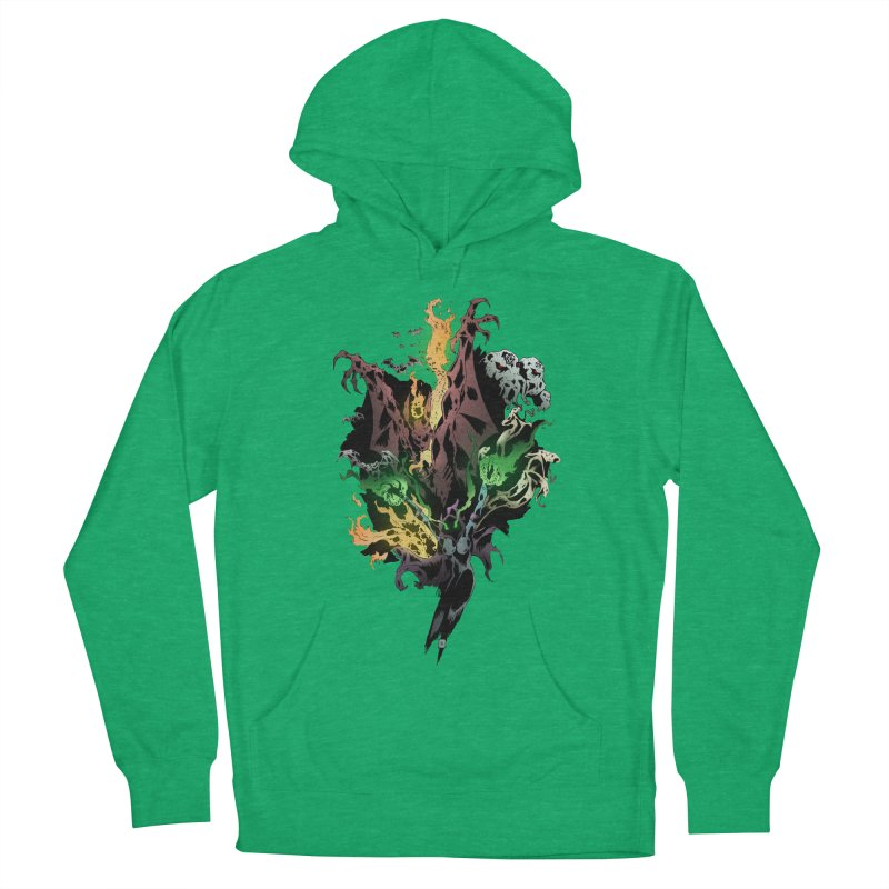 Summoning Women's French Terry Pullover Hoody by bybred's Artist Shop