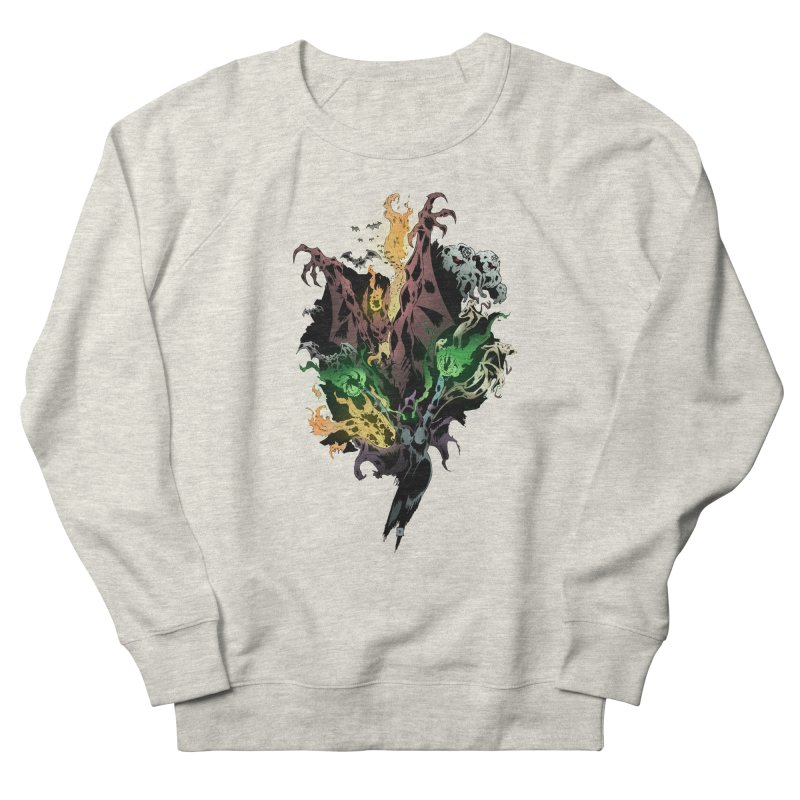 Summoning Men's French Terry Sweatshirt by bybred's Artist Shop