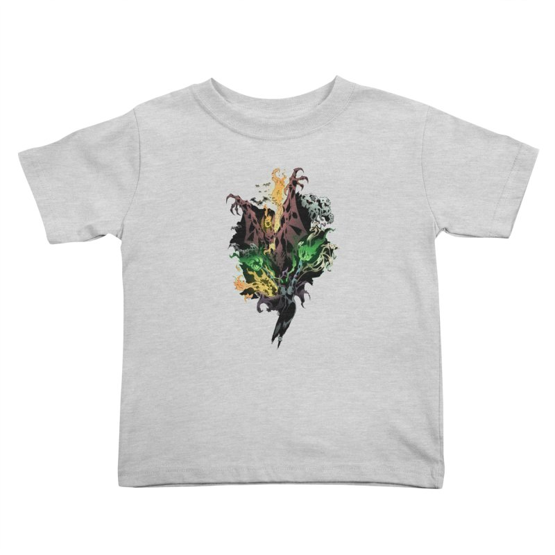 Summoning Kids Toddler T-Shirt by bybred's Artist Shop