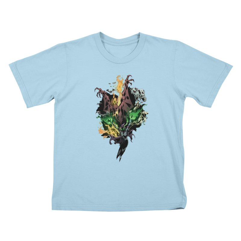 Summoning Kids T-shirt by bybred's Artist Shop