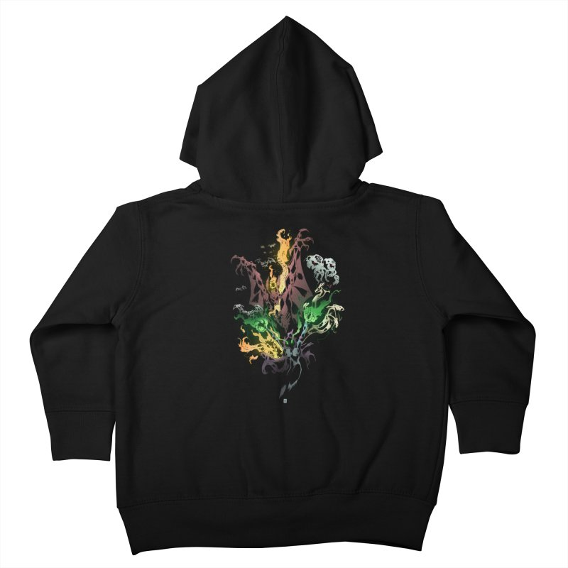 Summoning Kids Toddler Zip-Up Hoody by bybred's Artist Shop