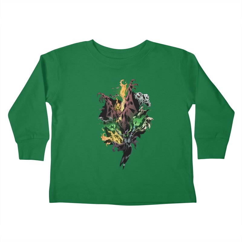 Summoning Kids Toddler Longsleeve T-Shirt by bybred's Artist Shop
