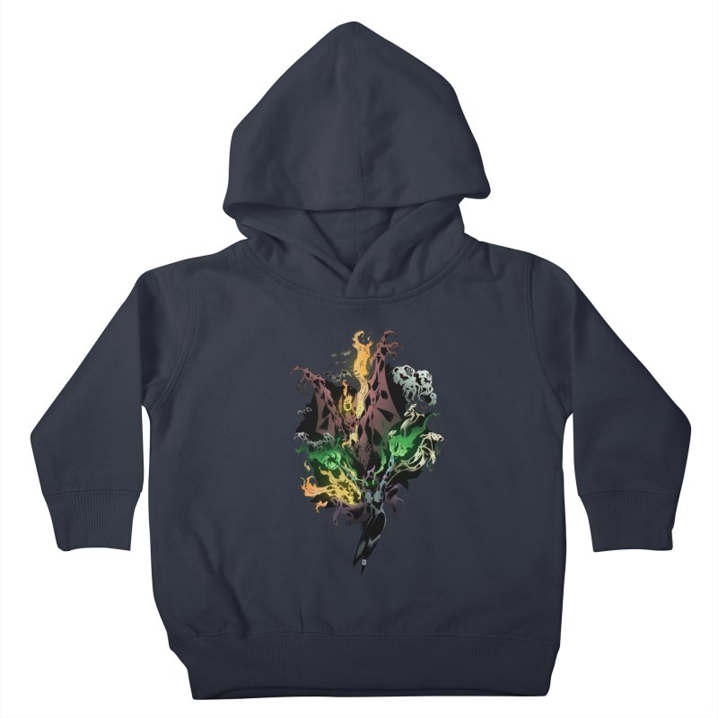 Summoning Kids Toddler Pullover Hoody by bybred's Artist Shop