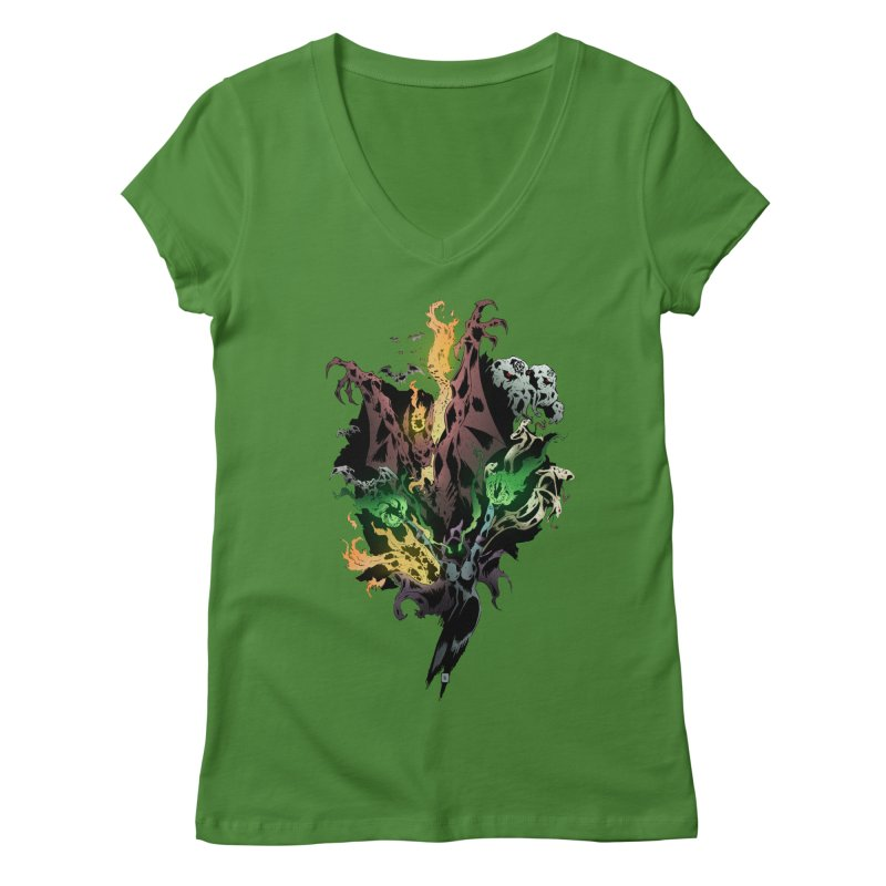 Summoning Women's V-Neck by bybred's Artist Shop
