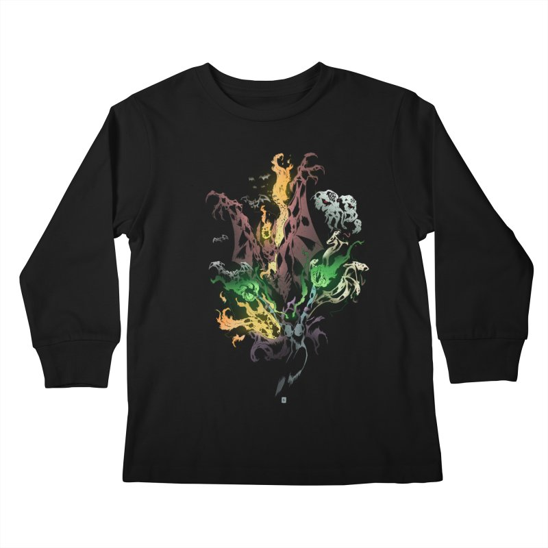 Summoning Kids Longsleeve T-Shirt by bybred's Artist Shop