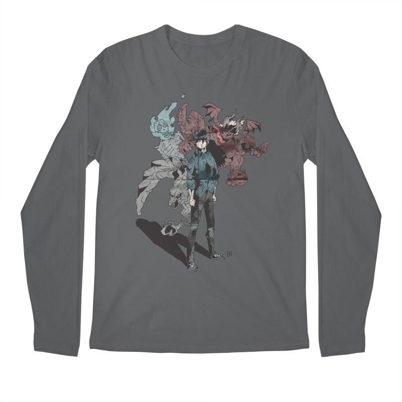 Devil in me Men's Longsleeve T-Shirt by bybred's Artist Shop