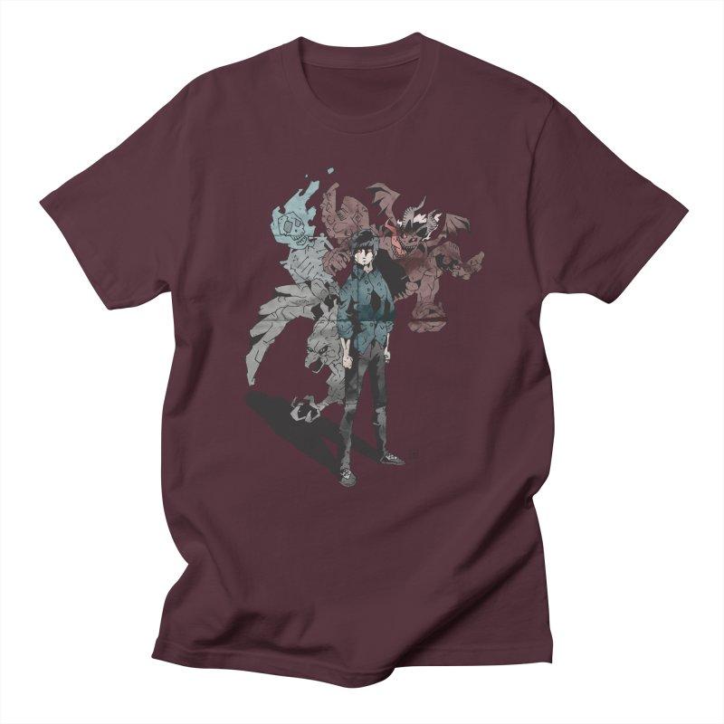 Devil in me Men's T-Shirt by bybred's Artist Shop