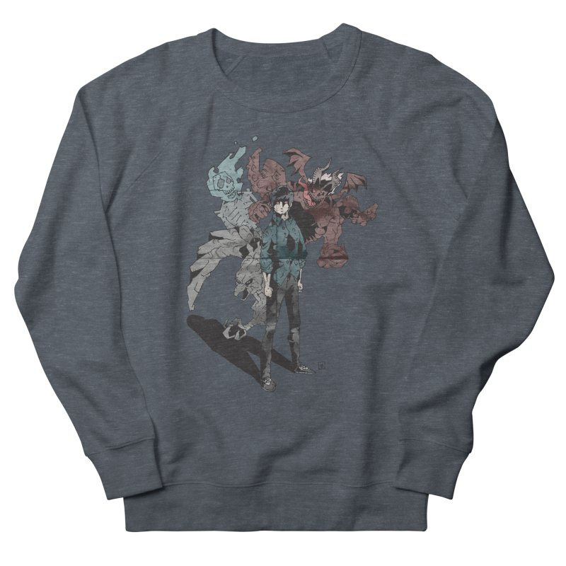 Devil in me Men's Sweatshirt by bybred's Artist Shop