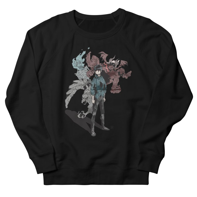 Devil in me Men's French Terry Sweatshirt by bybred's Artist Shop