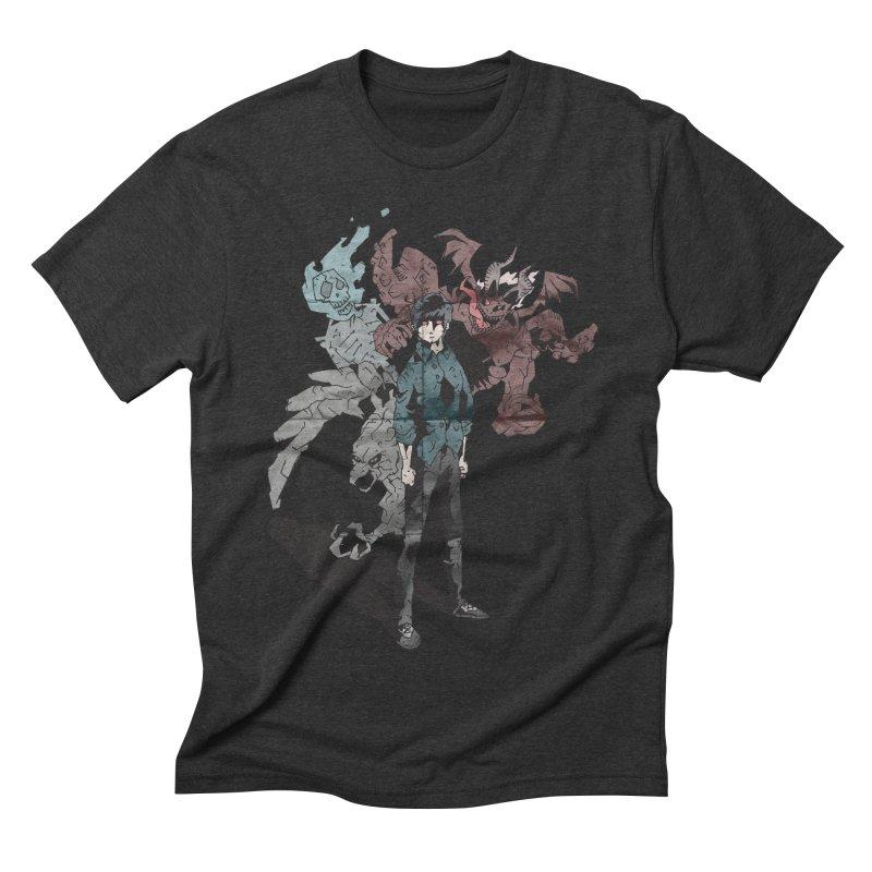 Devil in me Men's Triblend T-shirt by bybred's Artist Shop