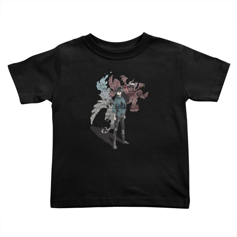 Devil in me Kids Toddler T-Shirt by bybred's Artist Shop