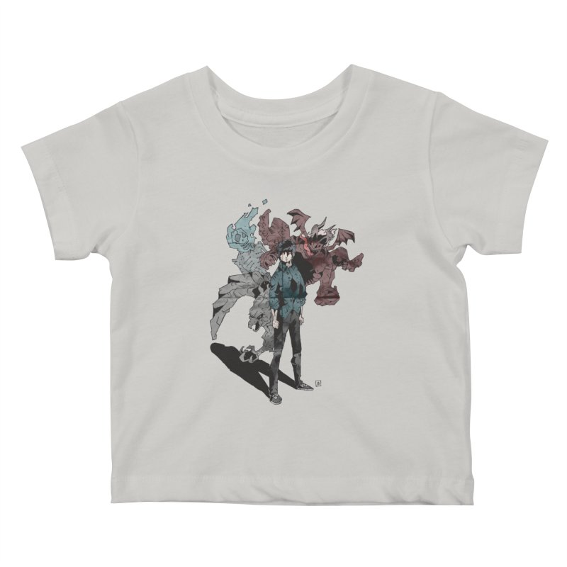 Devil in me Kids Baby T-Shirt by bybred's Artist Shop