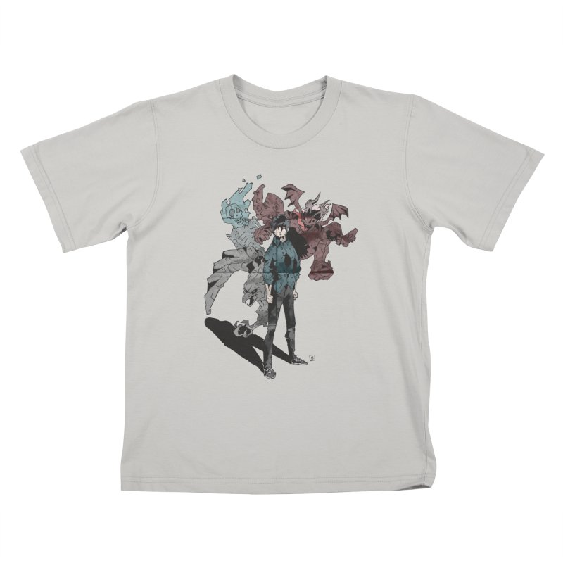 Devil in me Kids T-Shirt by bybred's Artist Shop