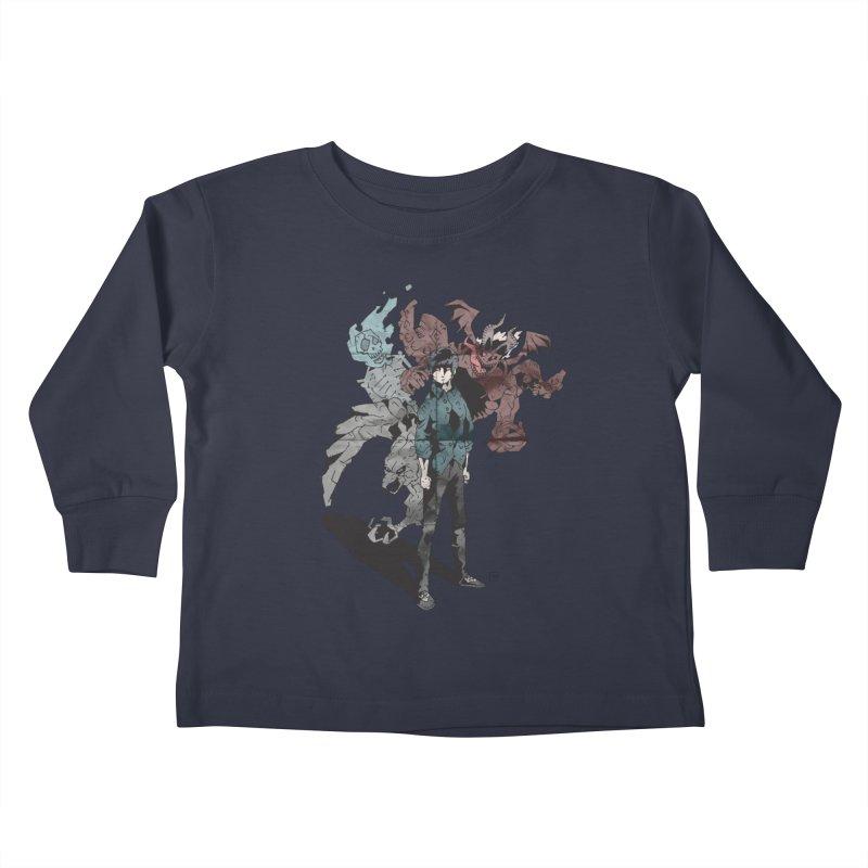 Devil in me Kids Toddler Longsleeve T-Shirt by bybred's Artist Shop