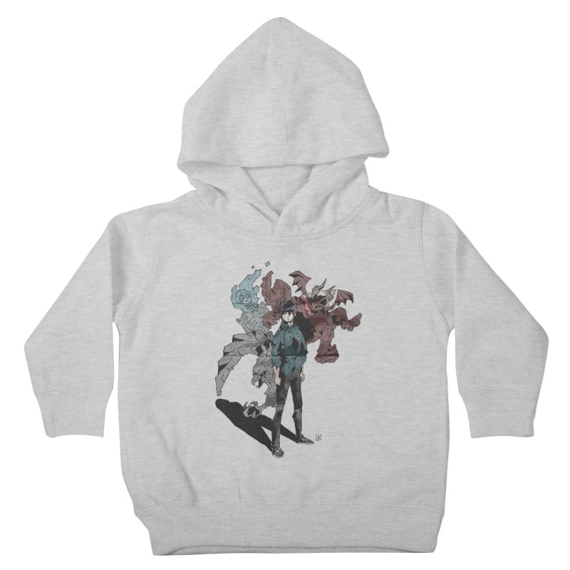 Devil in me Kids Toddler Pullover Hoody by bybred's Artist Shop