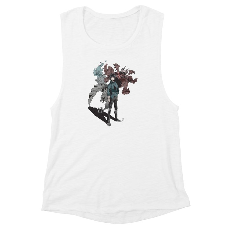 Devil in me Women's Muscle Tank by bybred's Artist Shop