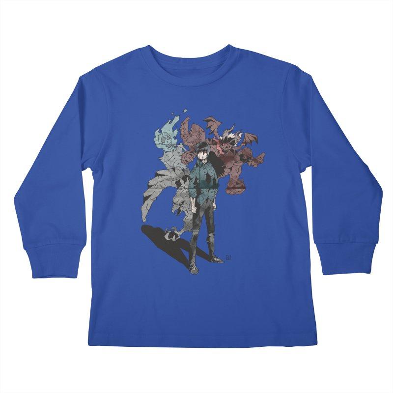 Devil in me Kids Longsleeve T-Shirt by bybred's Artist Shop
