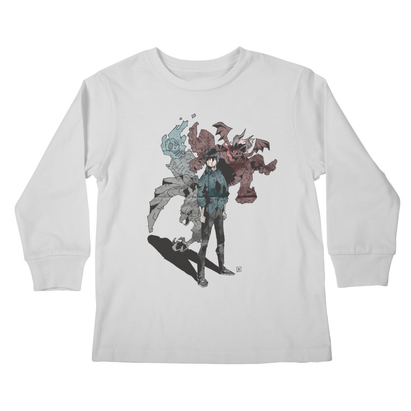 Devil in me Kids Longsleeve T-Shirt by bybred's Artist Shop