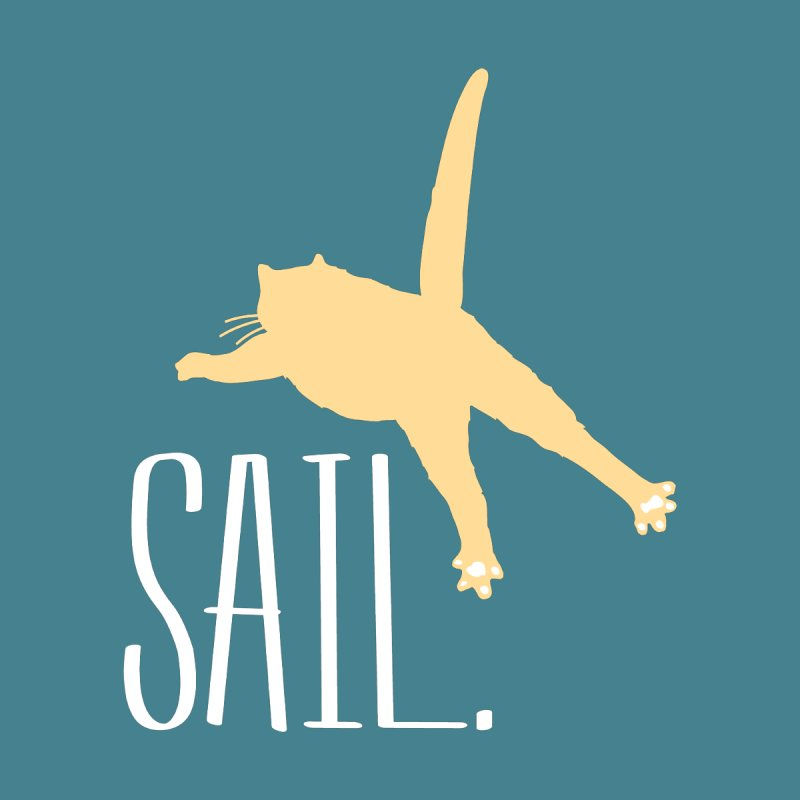 Sail Cat Shirt - Dark Shirts by Jon Lynch's Artist Shop