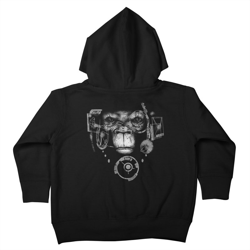 Iron Apes Kids Toddler Zip-Up Hoody by bykai's Artist Shop