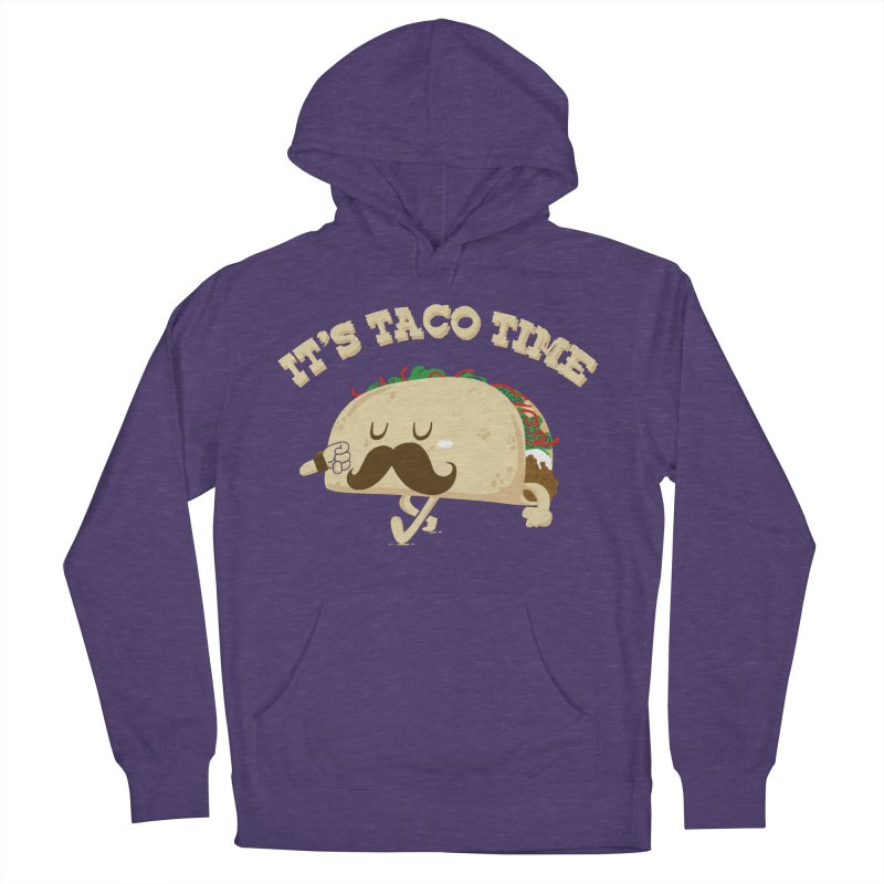 Taco Time Men's Pullover Hoody by bykai's Artist Shop