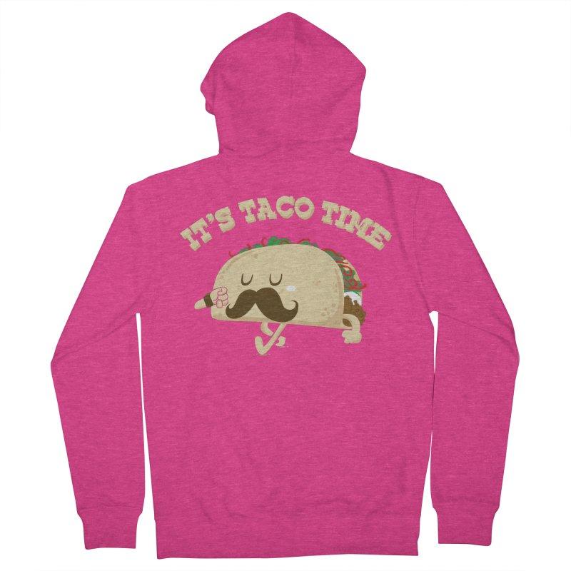 Taco Time Women's Zip-Up Hoody by bykai's Artist Shop