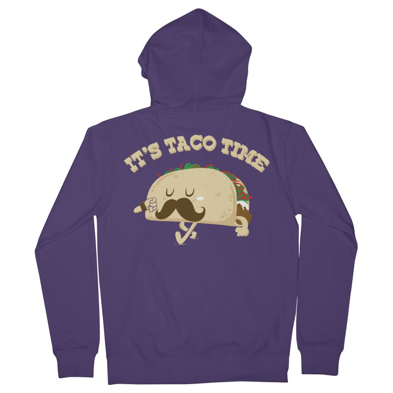 Taco Time Women's Zip-Up Hoody by bykai's Artist Shop