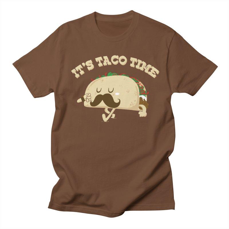Taco Time Men's T-Shirt by bykai's Artist Shop