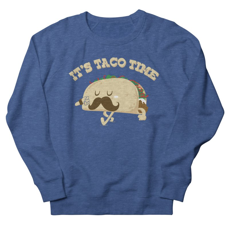 Taco Time Men's Sweatshirt by bykai's Artist Shop