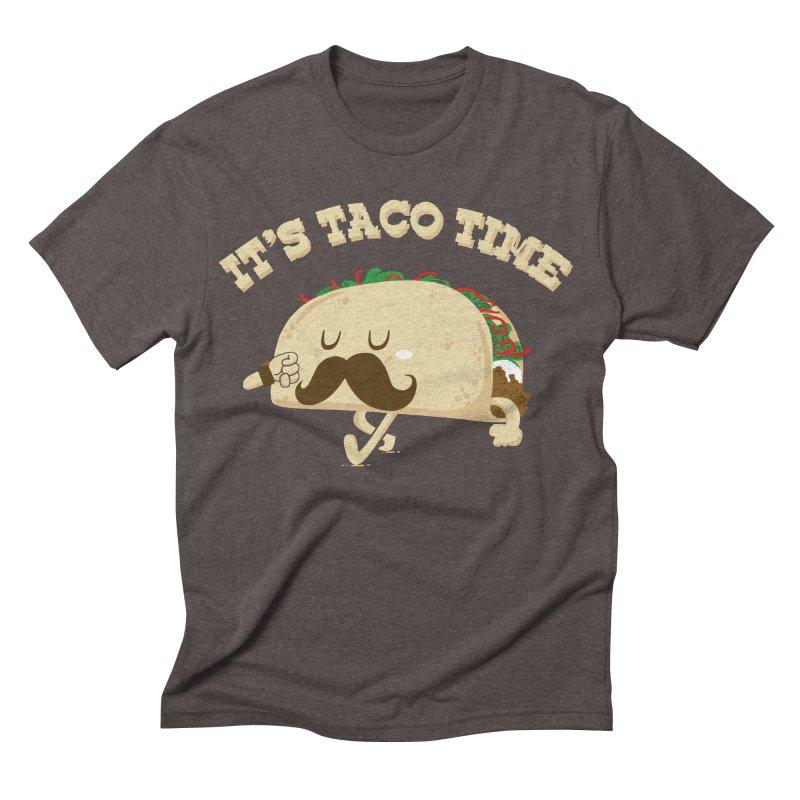 Taco Time Men's Triblend T-shirt by bykai's Artist Shop