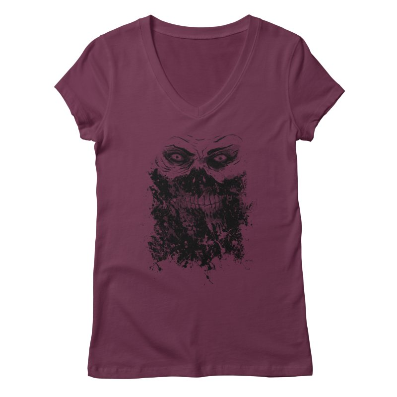 Eat You Alive Women's V-Neck by bykai's Artist Shop