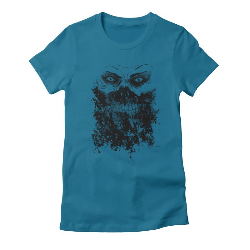 Eat You Alive Women's Fitted T-Shirt by bykai's Artist Shop