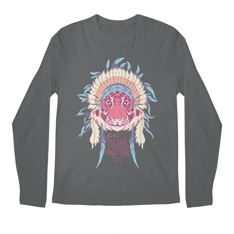Learn from Nature Men's Longsleeve T-Shirt by bykai's Artist Shop