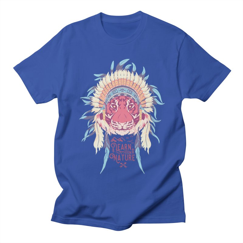 Learn from Nature Men's T-Shirt by bykai's Artist Shop