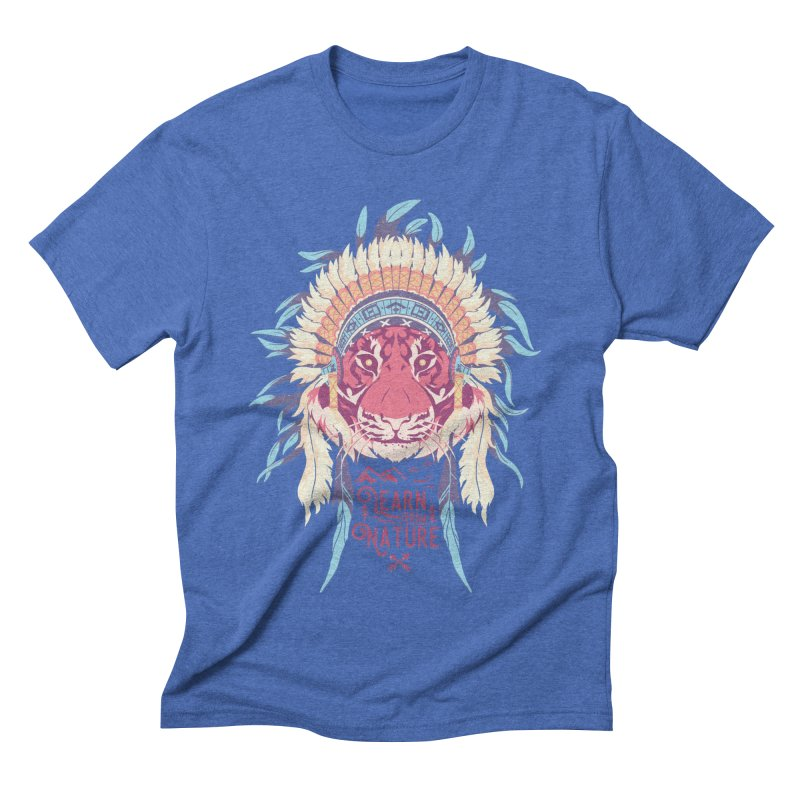 Learn from Nature Men's Triblend T-Shirt by bykai's Artist Shop