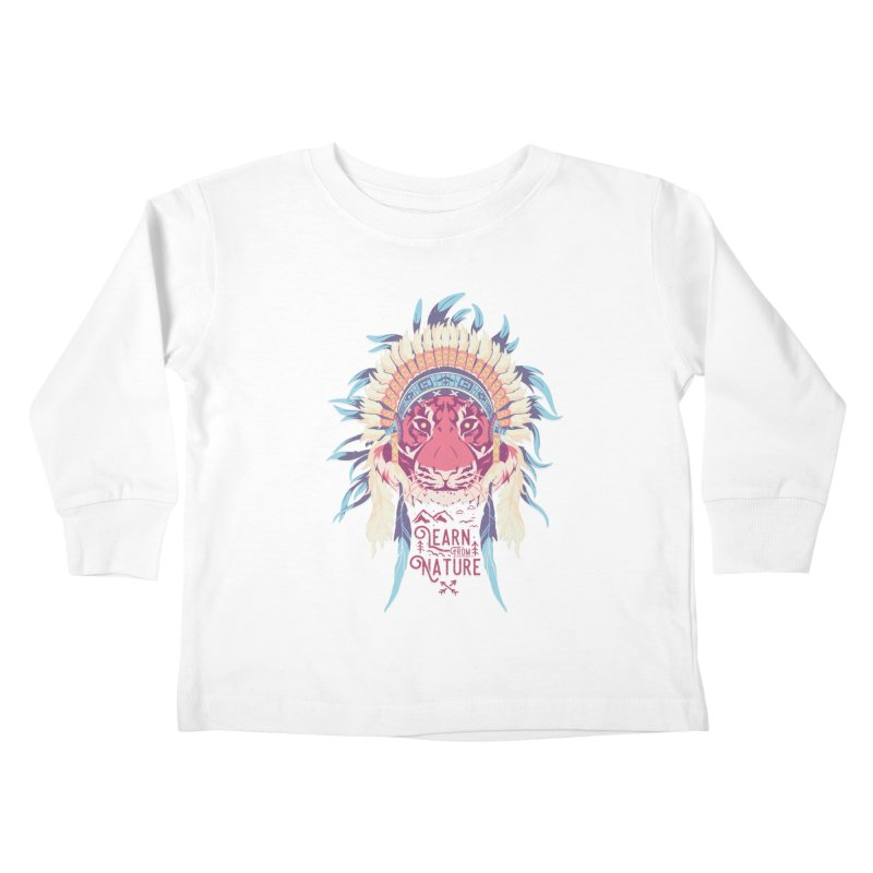 Learn from Nature Kids Toddler Longsleeve T-Shirt by bykai's Artist Shop