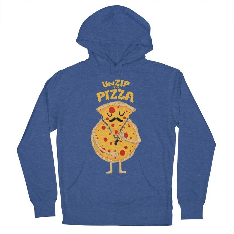 Unzip the Pizza Women's Pullover Hoody by bykai's Artist Shop