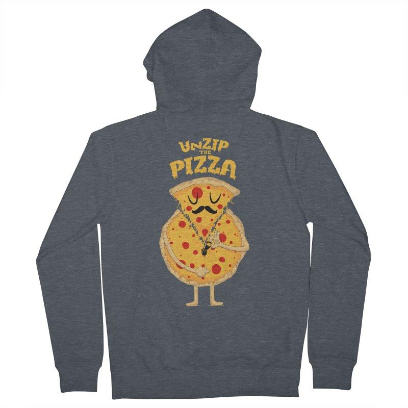 Unzip the Pizza Women's Zip-Up Hoody by bykai's Artist Shop
