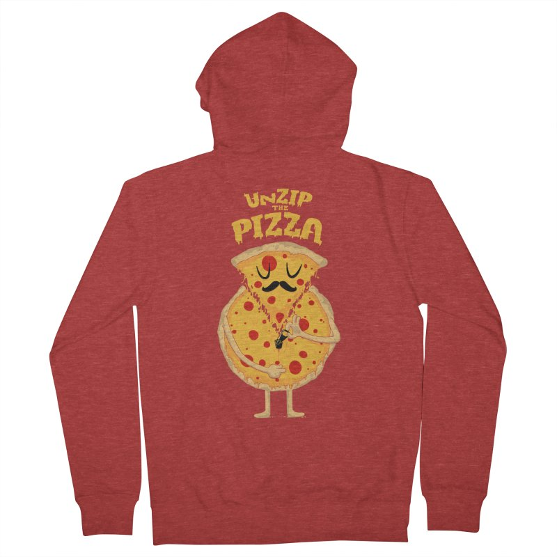 Unzip the Pizza   by bykai's Artist Shop