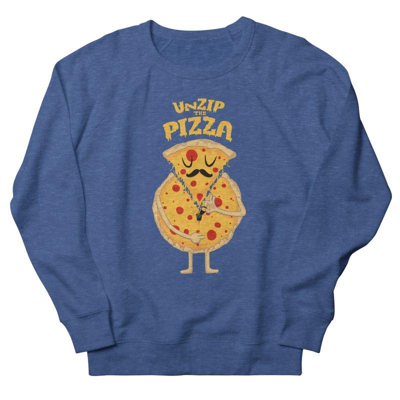 Unzip the Pizza Women's Sweatshirt by bykai's Artist Shop