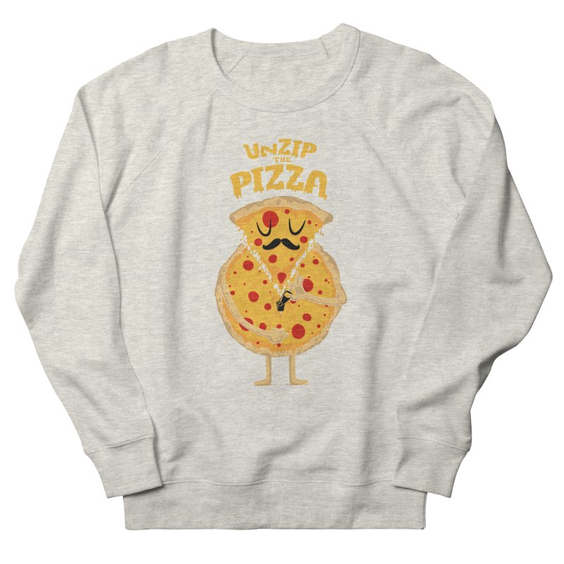 Unzip the Pizza Men's Sweatshirt by bykai's Artist Shop