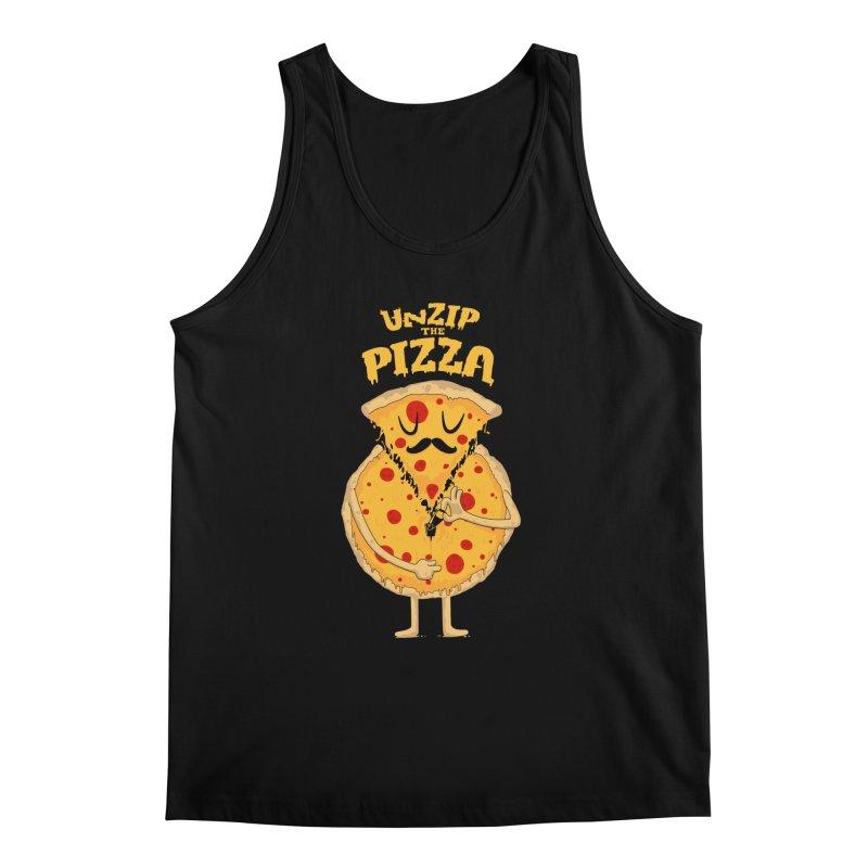 Unzip the Pizza Men's Tank by bykai's Artist Shop