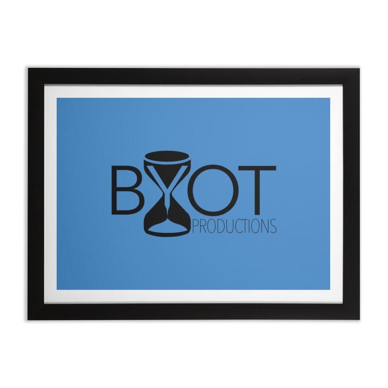 BYOT Logo Home Framed Fine Art Print by BYOT Swag Shop