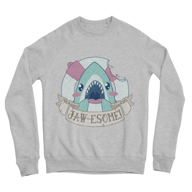Jawesome! (Great White Shark) Women's Sponge Fleece Sweatshirt by Byte Size Treasure's Shop
