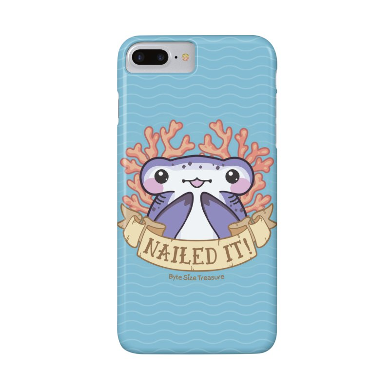Nailed It! (Hammerhead Shark) in iPhone 7 Plus Phone Case Slim by Byte Size Treasure's Shop