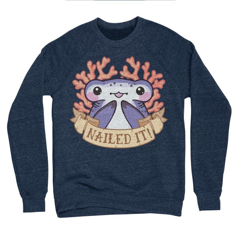 Nailed It! (Hammerhead Shark) Women's Sponge Fleece Sweatshirt by Byte Size Treasure's Shop