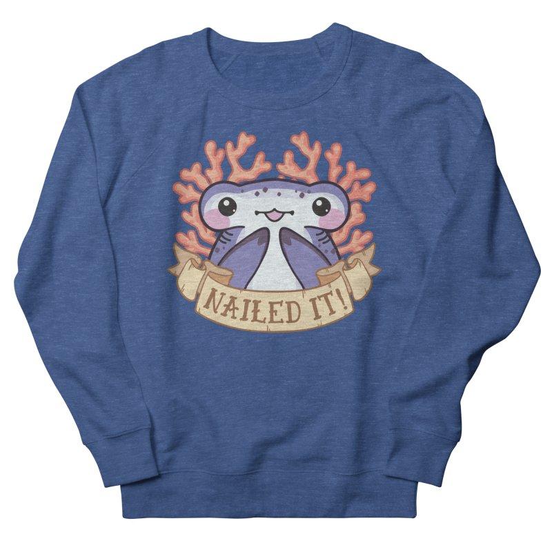 Nailed It! (Hammerhead Shark) Women's French Terry Sweatshirt by Byte Size Treasure's Shop