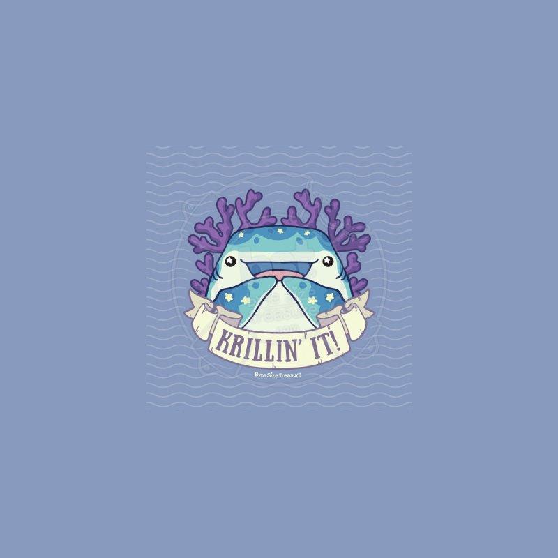 Krillin' It! (Whale Shark) Men's T-Shirt by Byte Size Treasure's Shop