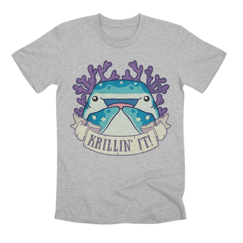 Krillin' It! (Whale Shark) Men's Premium T-Shirt by Byte Size Treasure's Shop